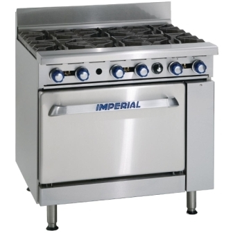 Imperial IR6 Six Burner Range