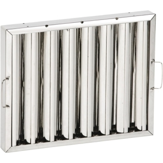 Stainless Steel Baffle Filters -  500 x 400