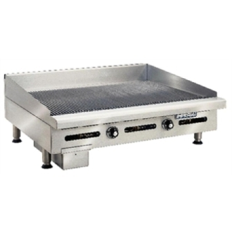 Imperial IGG-36 Thermostatic Ribbed Griddle - 914mm Wide