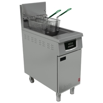 Falcon G402F Twin Basket Gas Fryer