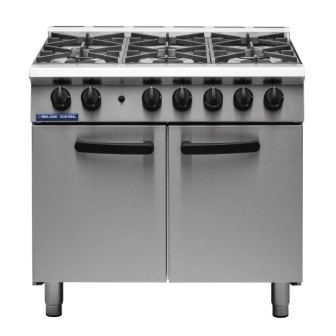 Blue Seal G750/6 6 Burner Range Medium Duty
