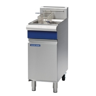 Blue Seal GT18 Single Tank Fryer 400mm wide