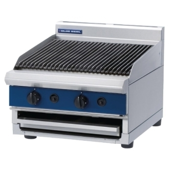 Blue Seal G594/B 600mm wide Chargrill Bench