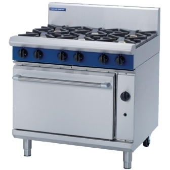 Blue Seal G506D 6 Burner Range