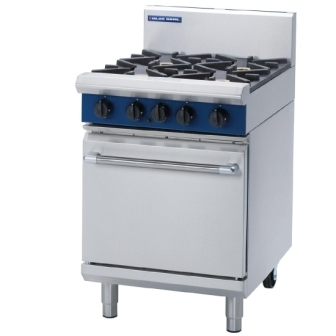 Blue Seal G504D 4 Burner Range with Oven