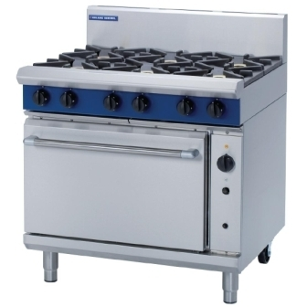 Blue Seal G56D Turbofan Convection Gas Oven Range