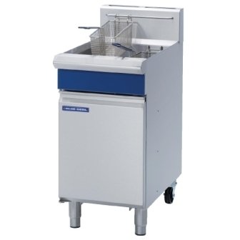 Blue Seal Evolution Vee Ray Single Tank Fryer Gas - 450mm