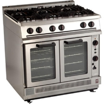 Falcon Dominator G2102 Gas Open Top Convection Oven Range