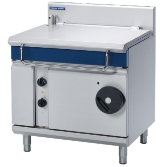 Blue Seal Evolution G580-8 Gas Tilting Bratt Pan Manual Tilt Mechanism  - 80Ltr