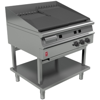 Falcon G3925 Dominator Plus Gas 900mm Wide Chargrill on Fixed Stand