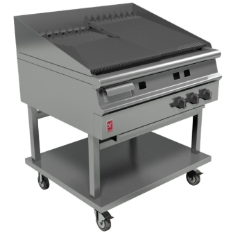 Falcon G3925 Dominator Plus Gas 900mm Wide Chargrill on Mobile Stand