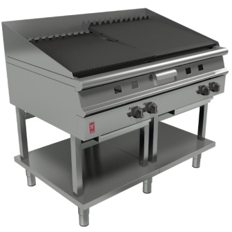 Falcon G31225 Dominator Plus Gas 1200mm Wide Chargrill on Fixed Stand