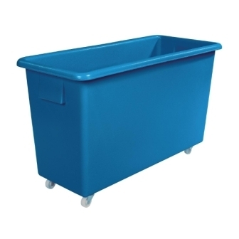 Blue Polyethylene Trolley - 29 x 20.5 x 26""