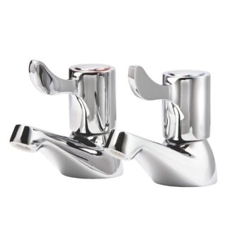 "Vogue Lever Basin Taps - 3"" [Pair]"