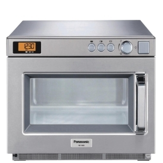 Panasonic NE-1846BPQ Heavy Duty Compact Microwave Oven Manual - 1800watt