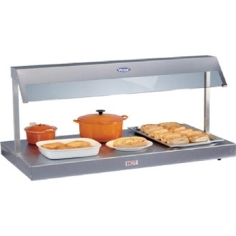 Victor HDU30 Stainless Steel Top Heated Display Unit - 3x 1/1GN