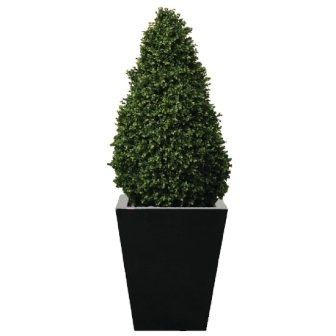Artificial Topiary Buxus Pyramid - 4ft