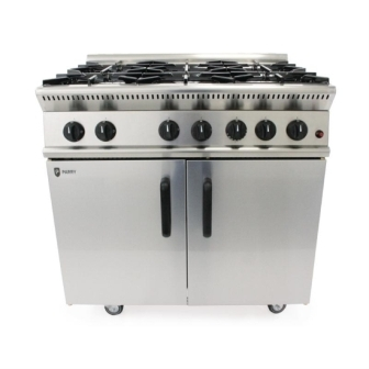 Parry GB6-N 6 Burner Range - Natural Gas