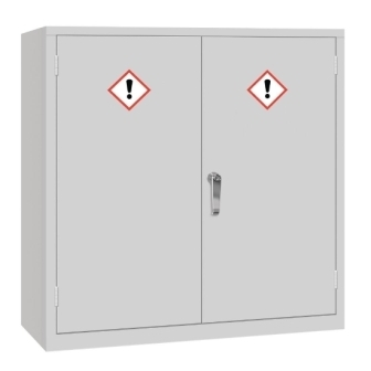 Coshh Double Door Cabinet 915h x 915w x 457mm d