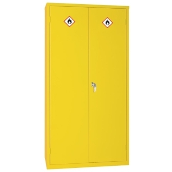 Hazardous Double Door Cabinet - 1830h x 915w x 457mm d