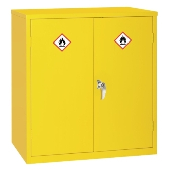 Hazardous Double Door Cabinet 915h x 915w x 457mm d