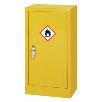 Hazardous Single Door Cabinet 710h x 457w x 305mm d