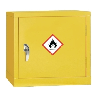 Hazardous Single Door Cabinet 457h x 457w x 305mm d