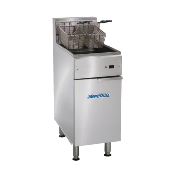 Imperial IFS-40-E-LOE Floor Standing Electric Fryer
