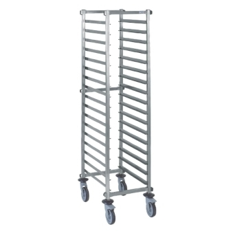Tournus Self Assembly GN1/1 Racking Trolley - 20 levels