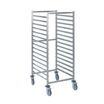 Tournus GN 2/1 Racking Trolley - 15 levels