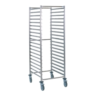 Tournus GN 2/1 Racking Trolley - 20 levels