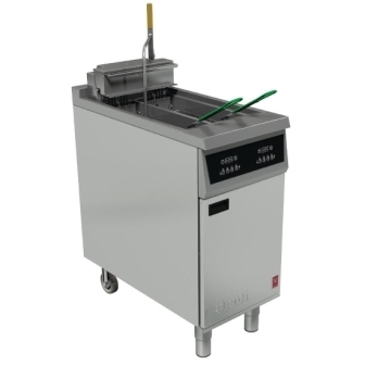 Falcon E422F Twin Pan Electric Filtration Fryer