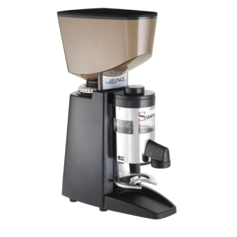 Santos Silent Espresso Coffee Grinder with Dispenser