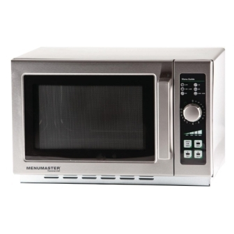 Menumaster RCS511DSE Large Cavity Medium Duty Microwave Manual Dial - 1100watt