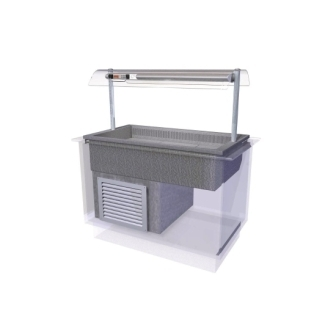 Designline Cold Island Well Self Service - 1525mm (L)