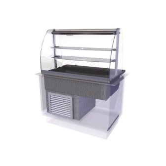 Designline Cold Multi Level Deli Assisted Service - 1175mm (L)