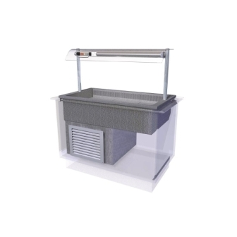 Designline Cold Well Self Service - 1525mm (L)