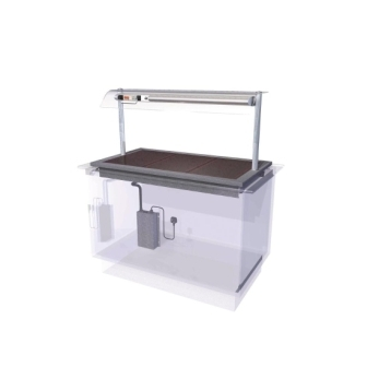 Designline HP3 Ceran Glass Hotplate Self Service - 1175mm (L)