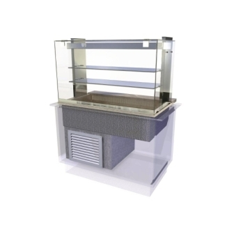 Kubus Cold Multi Level Deli Assisted Service - 1175mm (L)