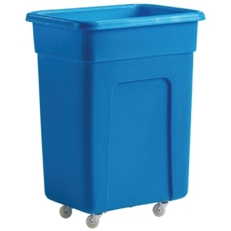 Blue Polyethylene Trolley - 736x457x609mm