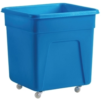 Blue Polyethylene Trolley - 635x609x660mm