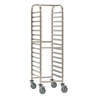 EAIS St/St - 600x400 (profile 400mm) Trolley