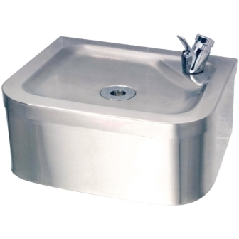 Franke Sissons Wall Mounted Drinking Fountain - 310 x 264 x 135mm