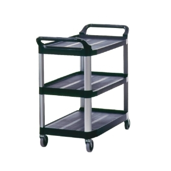 Rubbermaid X-tra Utility Cart Black