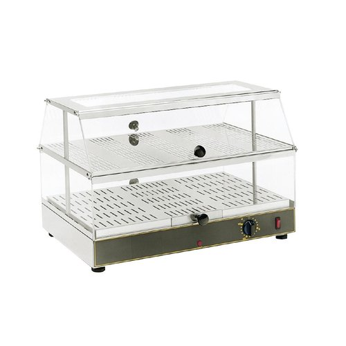 Roller Grill Electric Heated Display - 2 Shelf