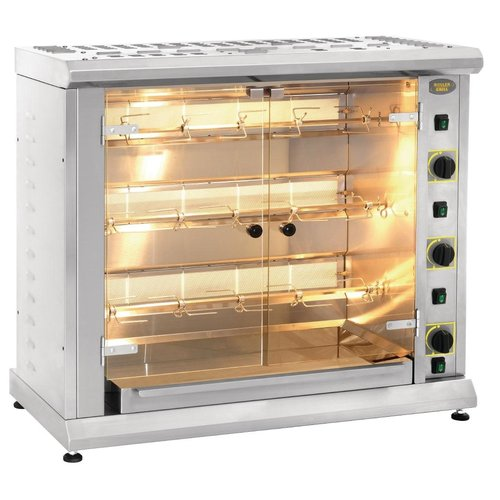 Roller Grill RBE120Q Rotisserie - 12 Chickens Electric