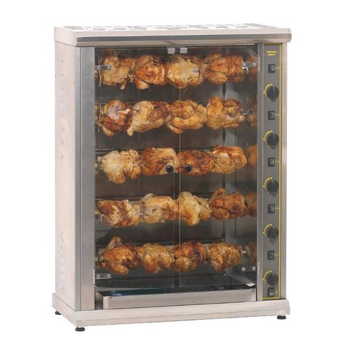 Roller Grill RBE200 Rotisserie - 20 Chickens Electric