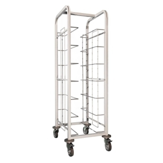 Craven Tray Clearing Trolley (7 level 170mm spacing)