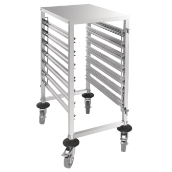 Vogue Gastronorm Racking Trolley - 7 Level