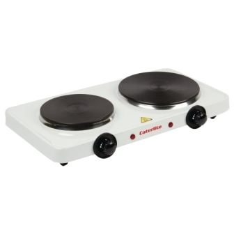 Caterlite Electric Countertop Boiling Rings - Double